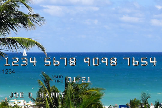 Credit cards for world travelling