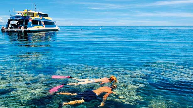 Activities in Great Barrier Reef